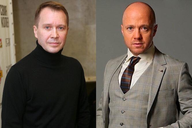 Евгений Миронов и Евгений Стычкин