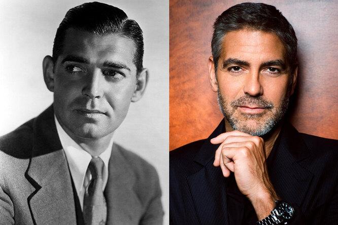 Кларк Гейбл и Джордж Клуни