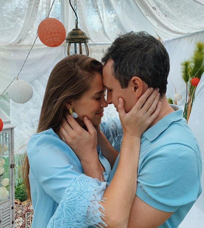 Климова Катрин с мужем