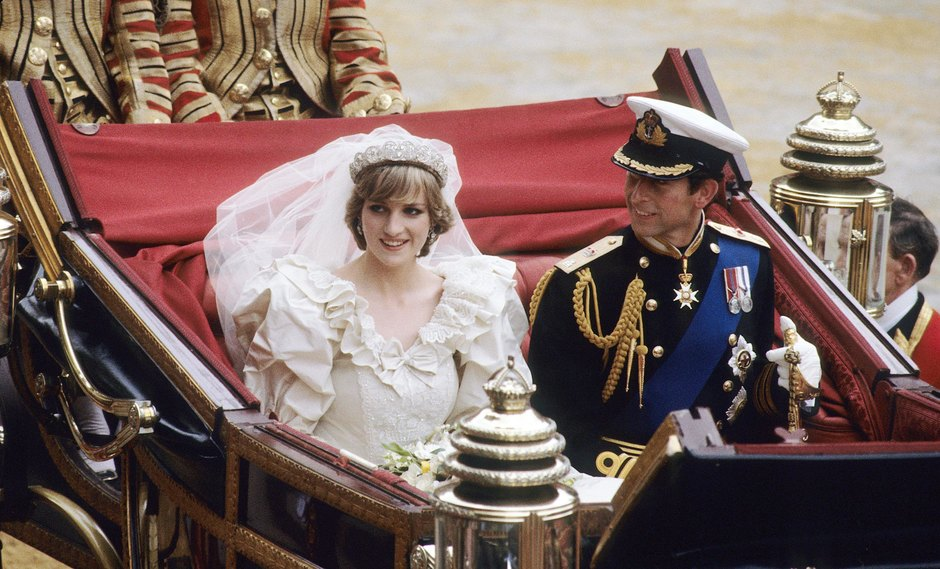 Свадьба принцессы Дианы ипринца Чарльза