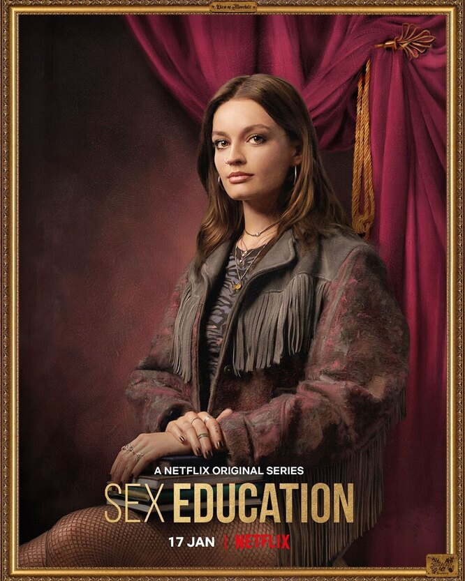 Эмма Маккей для второго сезона сериала покрасилась в шатенку