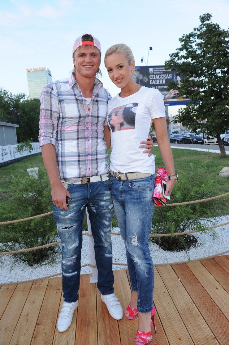 Ольга Бузова сбывшим мужем