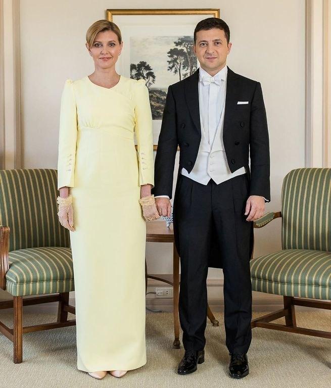 Елена иВладимир Зеленские вТокио