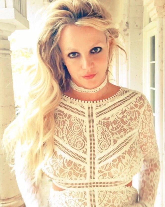 Бритни Спирс на долгое время пропала из соцсетей