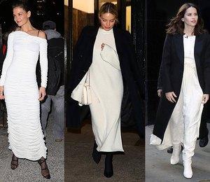 Белое платье должно быть в гардеробе! 6 наглядных доказательств от звезд