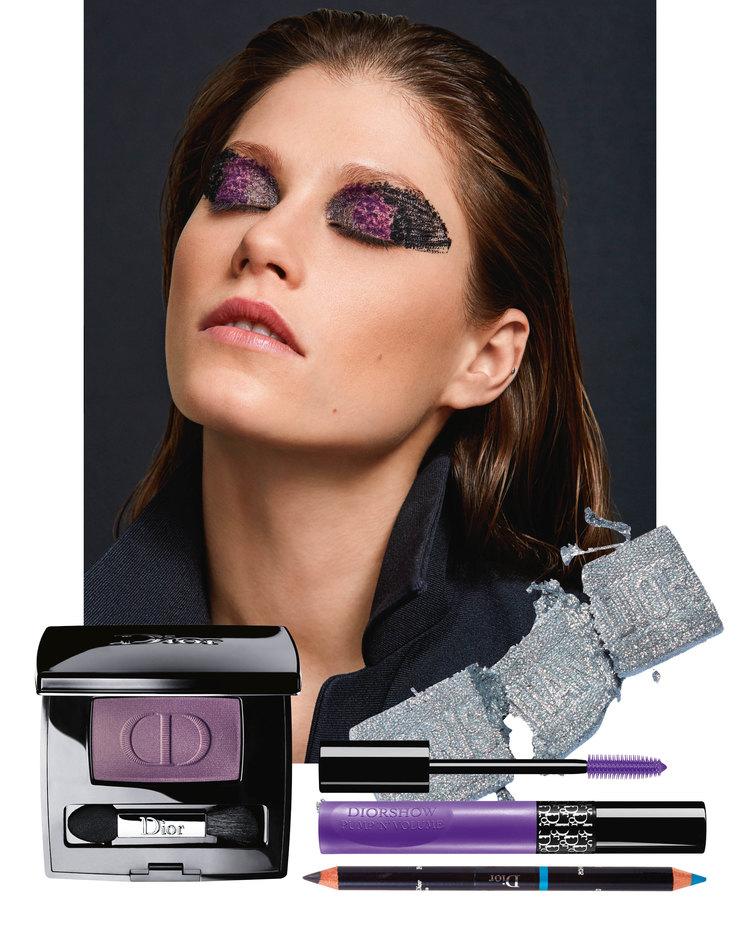 Для макияжа использовались: Праймер Dior Backstage Face and Body Primer, тональное средство Dior Forever skin Glow, 1N, тушь длябровей Diorshow Pump 'n' Brow, 011, Blonde, палитра теней Diorshow 3 Couleurs Tri(o)blique, 053, Smoky Canvas, тени Diorshow Mono, 994, Power, тушь Diorshow Pump 'n'Volume HD, 090, Black, тушь Diorshow Pump 'n'Volume Hd, 160, Purple Pump, Тинт Dior Addict Lip Tattoo, 321,Natural Rose – все Dior. НаИрине: хлопковый жилет, Dior