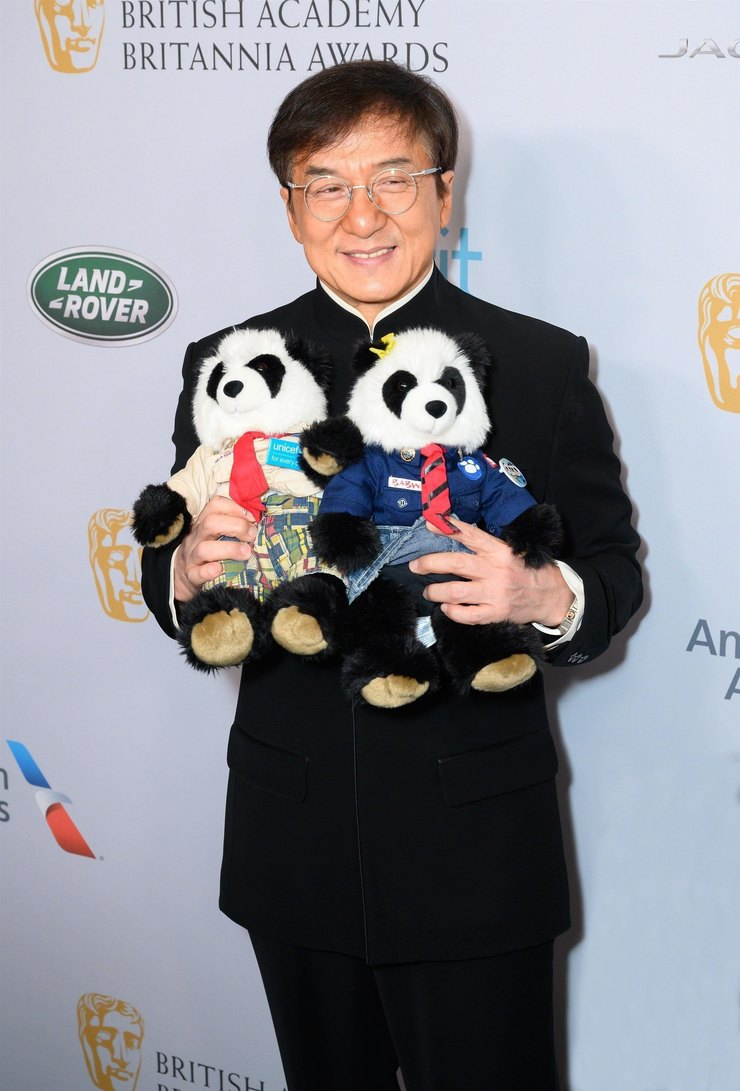 Джеки Чан напремии British Academy Awards 2019 год