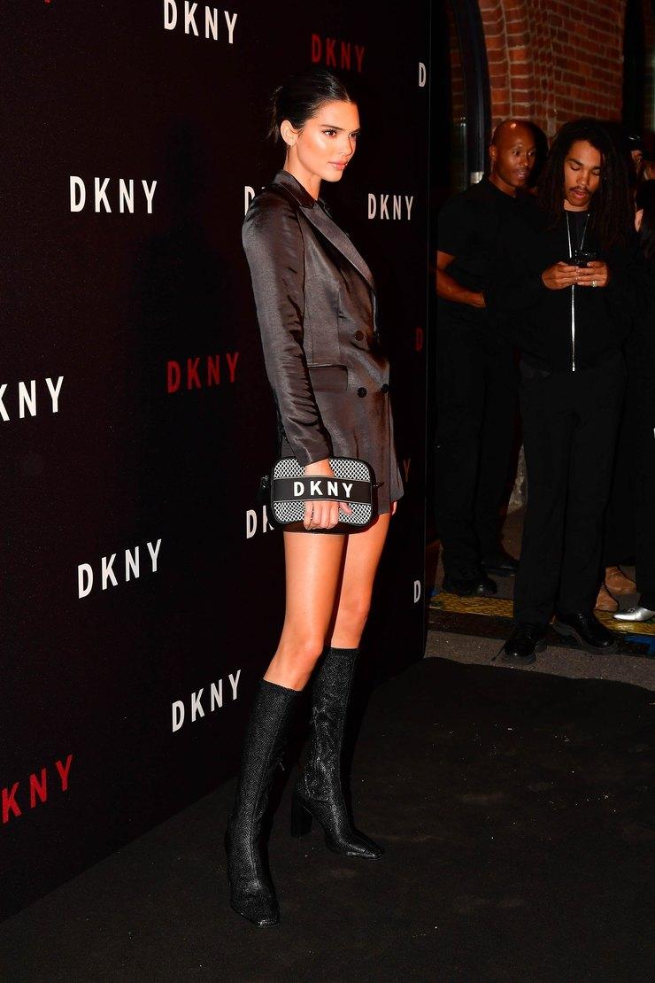 Кендалл Дженнер навечеринке DKNY