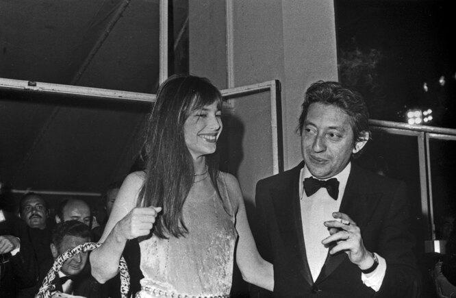 1974 г. Джейн Биркин и Серж Генсбур