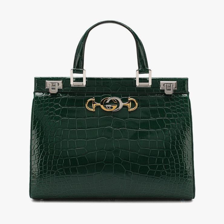 Сумка Gucci Zumi изкожи аллигатора, 1967300 руб.