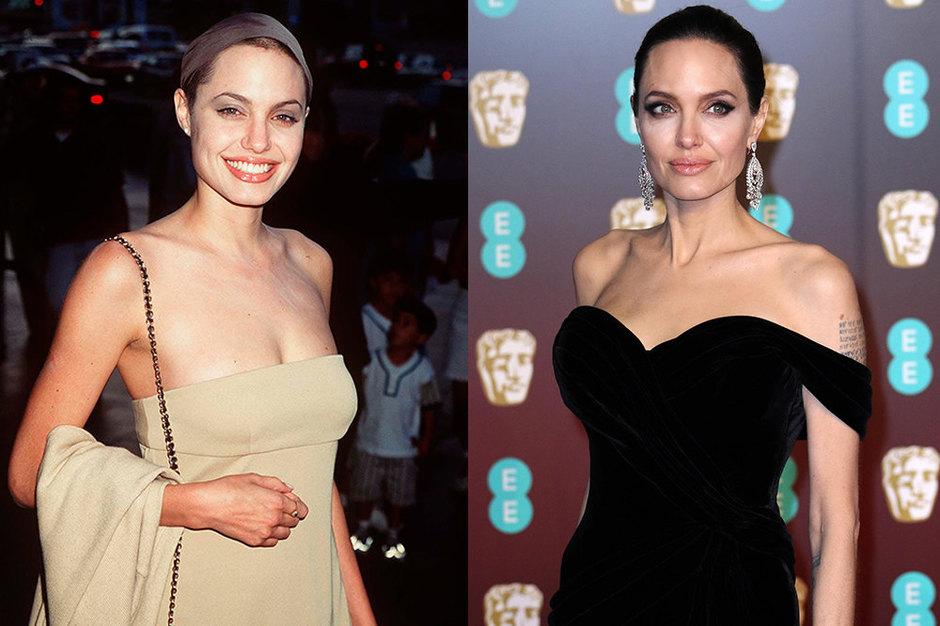 Анджелина Джоли тогда исейчас