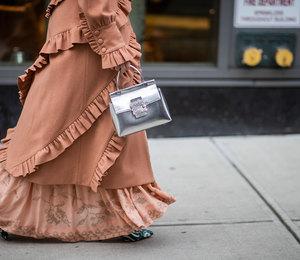 В пол: триумфальное возвращение макси наНеделе моды вНью-Йорке