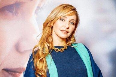Татьяна Навка использовала «летние» цвета восеннем аутфите