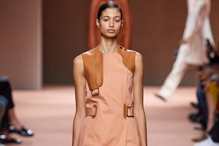 Неделя моды вПариже: эссе ографическом минимализме напоказе Hermès