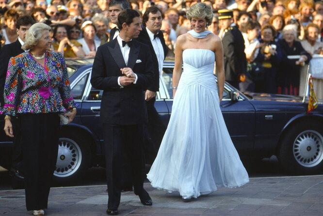 1987 г. Принц Чарльз и принцесса Диана