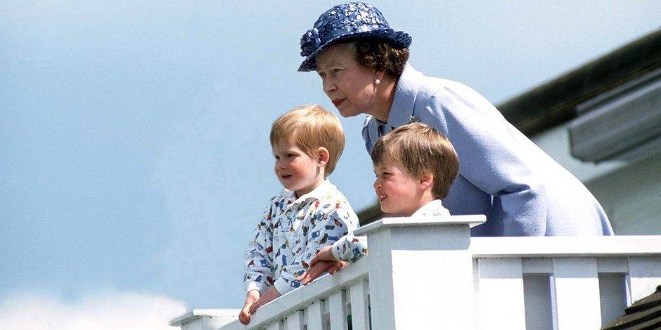 С принцами Гарри иУильямом наматче пополо