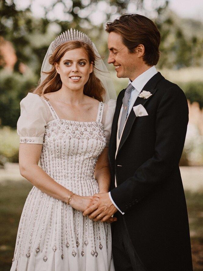 Беатрис с мужем
