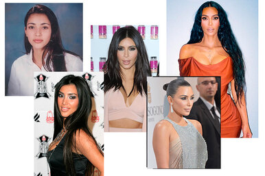 Была ли пластика? Сравниваем фото Ким Кардашьян 20 лет назад исегодня