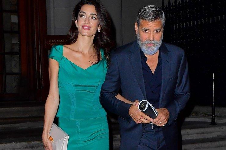 Джордж Клуни защитил супругу отпапарацци