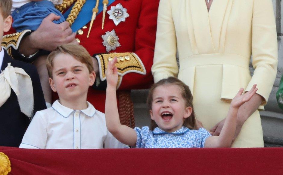 Принц Джордж ипринцесса Шарлотта