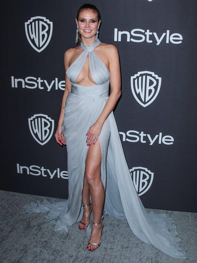 Хайди Клум, 2019, Golden Globe Awards