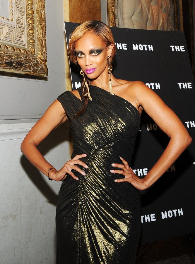 Тайра Бэнкс, The Moth Ball in New York, 2012