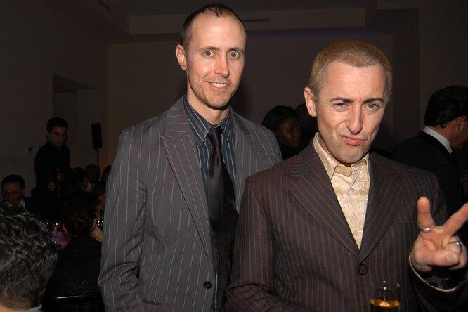 Алан Камминг и Грант Шаффер, 2006