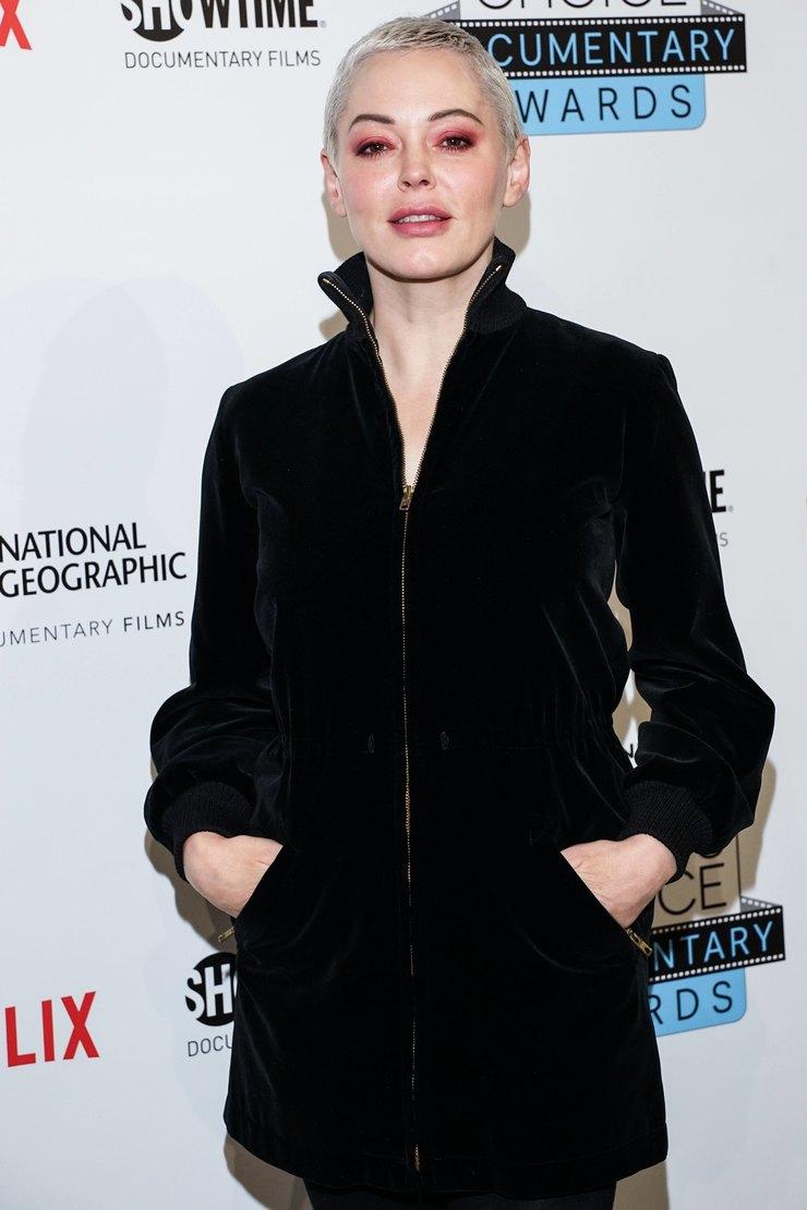 Роуз Макгоуэн наСritic's Choice Documentary Awards, 2019 год