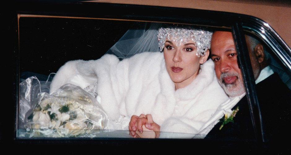 Селин Дион иРене Анжелила во время свадьбы, 1994 год