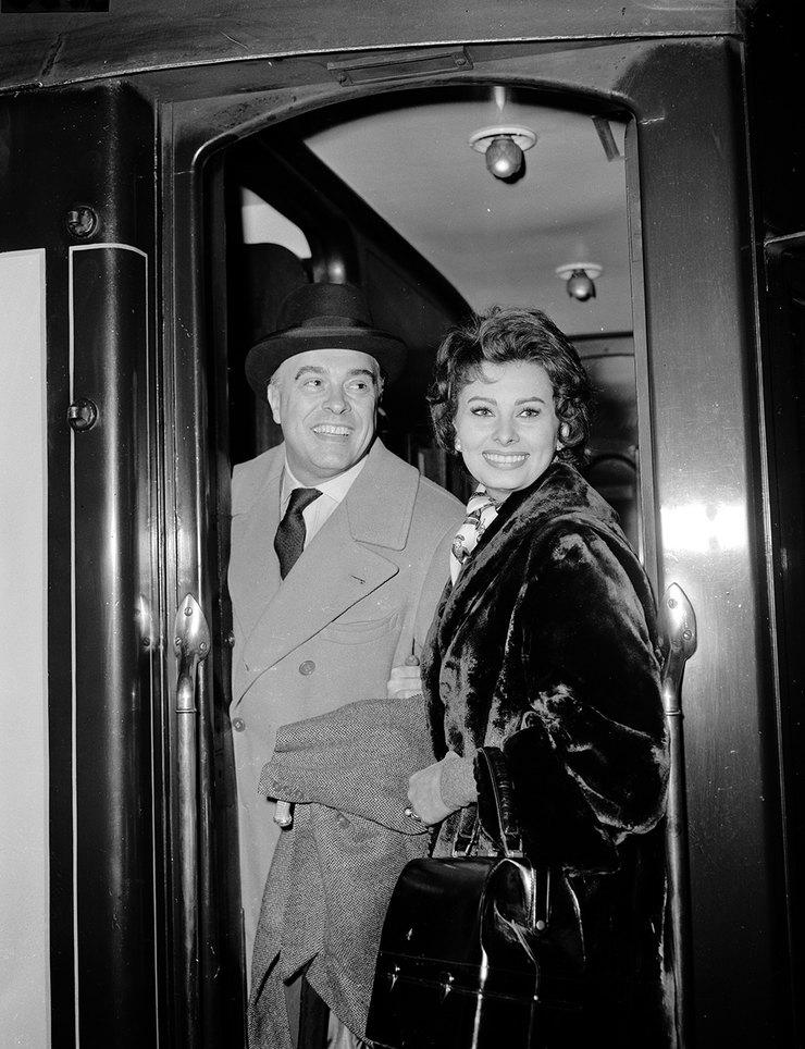 Софи Лорен иКарло Понти, 1958