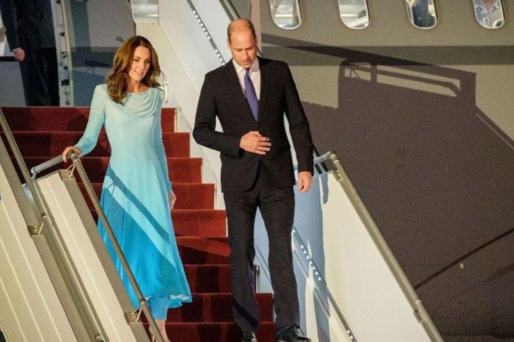 Кейт Миддлтон повторила образ принцессы Дианы дляпоездки вПакистан