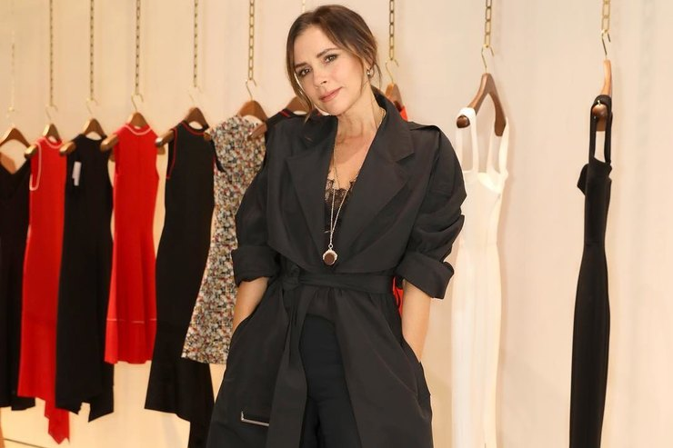 Виктория Бекхэм призналась, что отдала свой бра модели во время Недели моды
