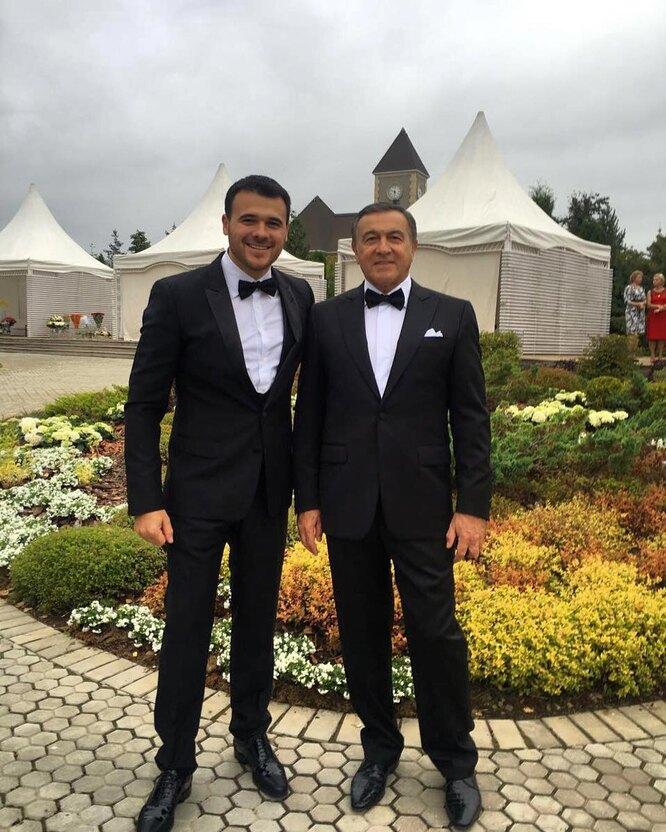 Эмин Агаларов с отцом
