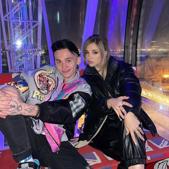 Даня Милохин и Аня Pokrov