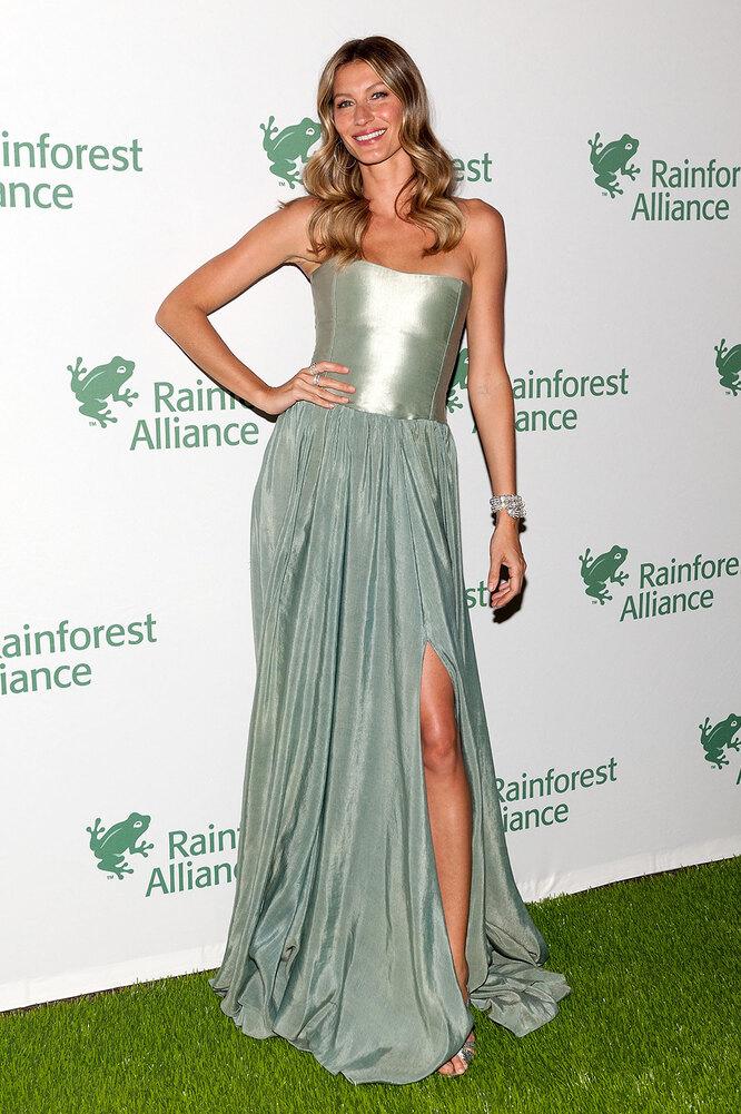Жизель Бюндхен на Rainforest Alliance Gala, 2014