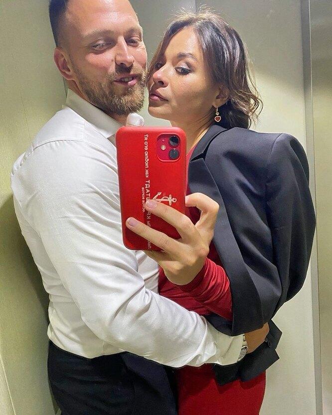 Ксения Шойгу с женихом Алексеем Столяровым