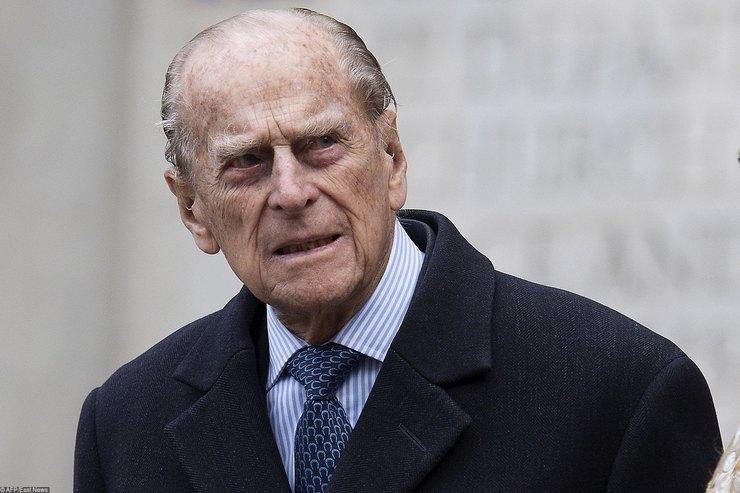 96-летний принц Филипп экстренно гоcпитализирован вЛондоне