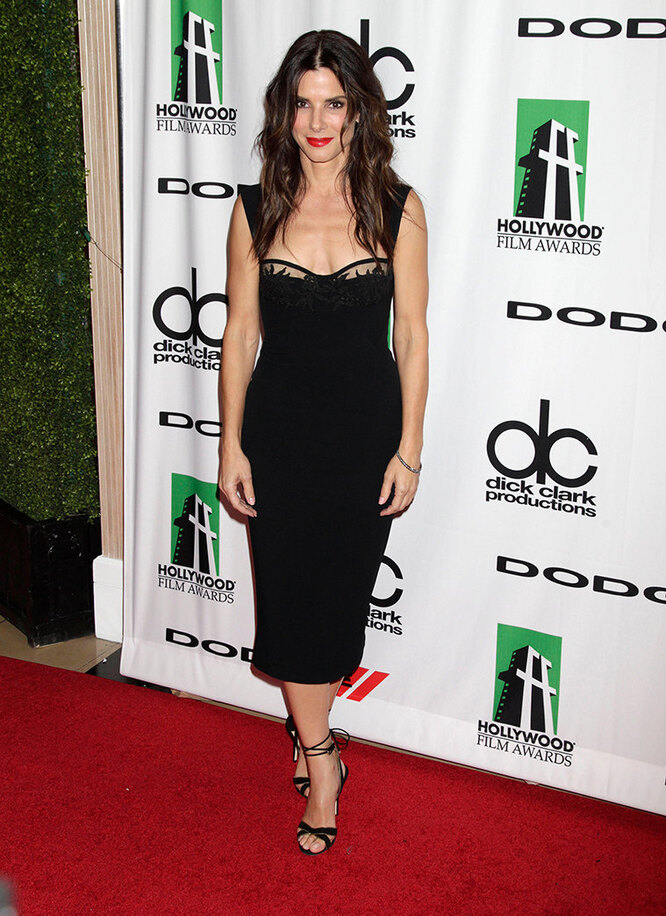 Сандра Буллок наHollywood Film Awards Gala в 2013 году
