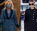 Мелания Трамп VS Джилл Байден: битва нарядов первых леди вдень инаугурации