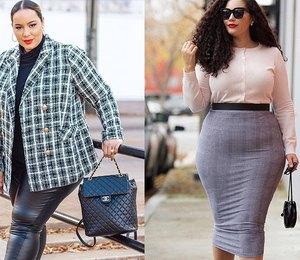 4 девушки с очень пышными формами, которые не стесняются носить облегающую одежду
