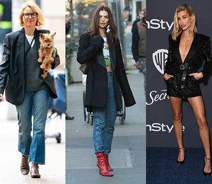 Вместо платья или верхней одежды: 5 интересных способов носить удлиненный жакет от самых модных звезд