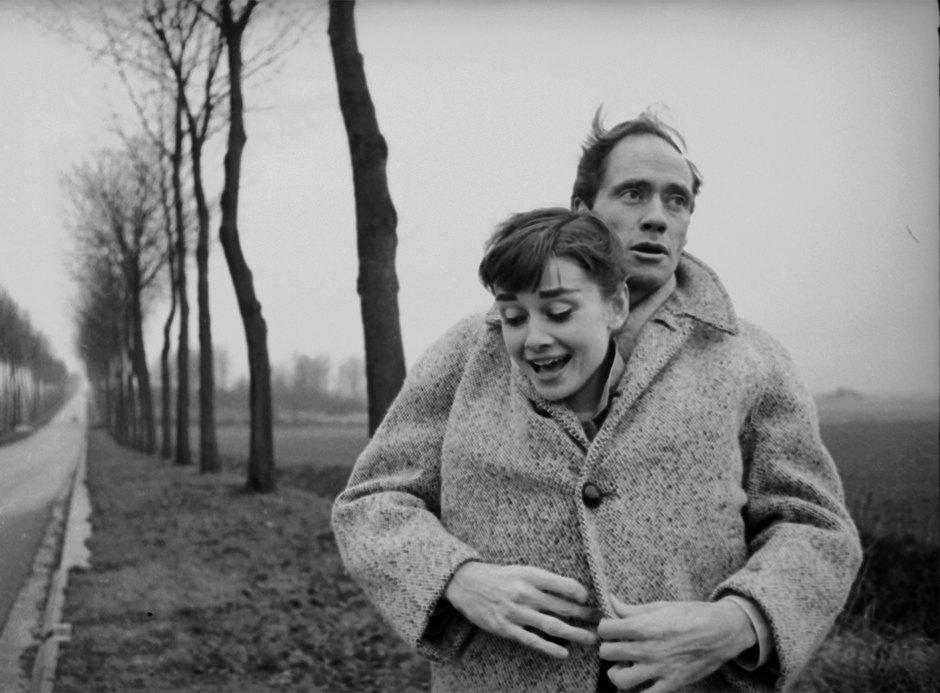 Одри Хэпберн иМел Феррер, 1956 год