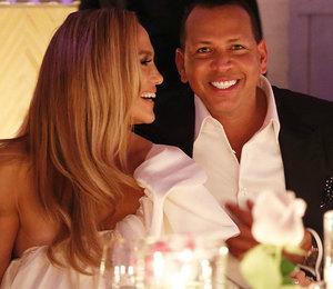 Дженнифер Лопес и Алекс Родригес устроили вечеринку в честь помолвки