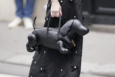 Дама ссобачкой: 10 несерьезных сумок