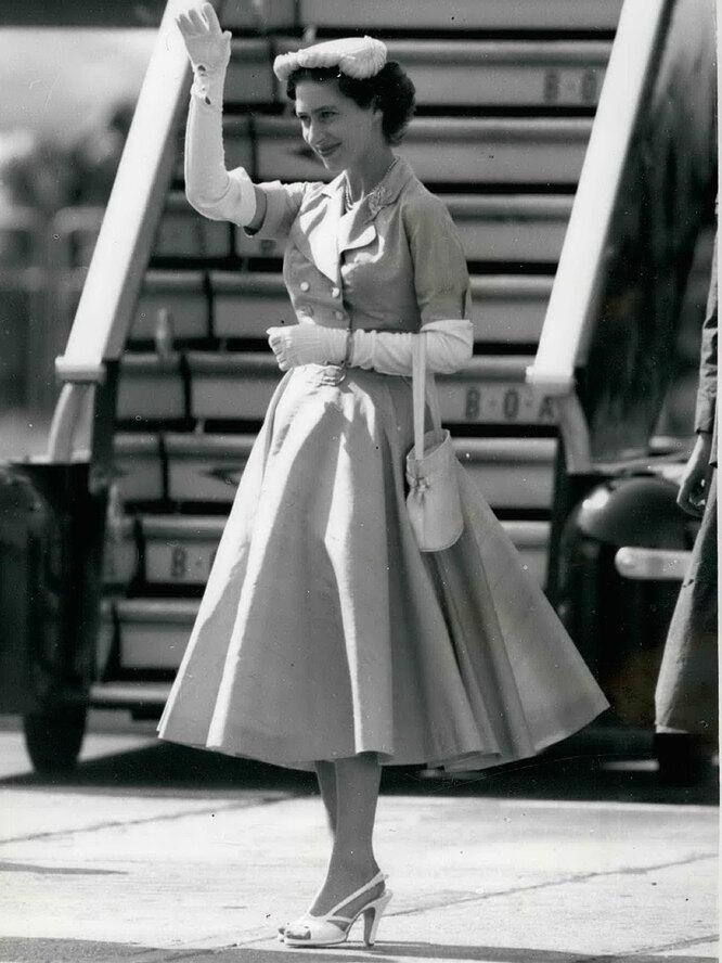 Принцесса Маргарет в 50-х