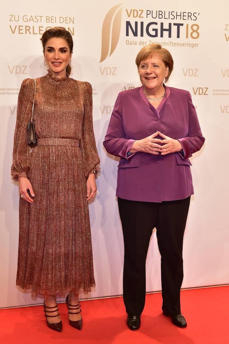 Королева Рания иАнгела Меркель