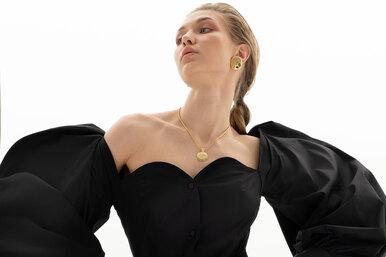 Девушка эпохи Ренессанса: лукбук Antari весна–лето 2019
