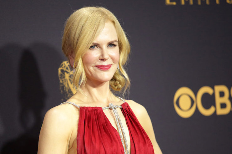 Королева! Николь Кидман вроскошном красном платье вЛос-Анджелесе