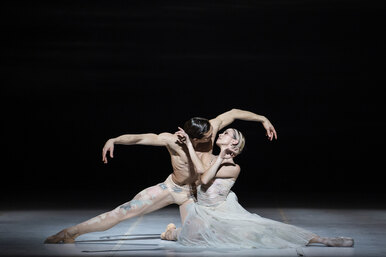 Посмотрите балет Nuit Blanche скостюмами отDior