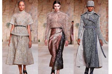 Как изсказки: 75 кутюрных нарядов Dior, красота которых завораживает
